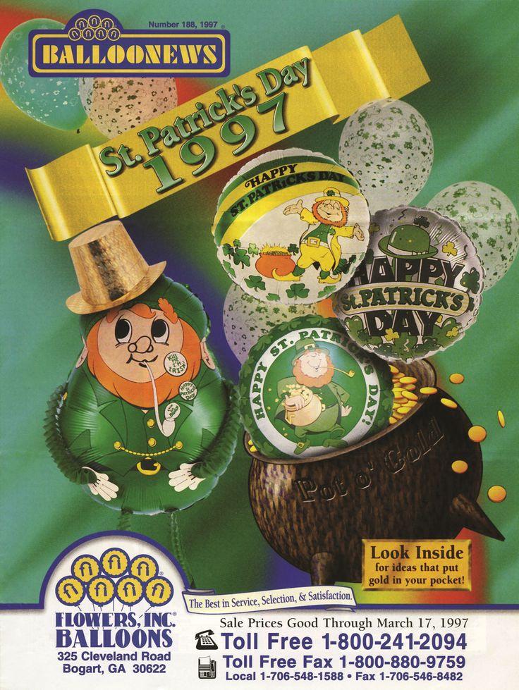 BALLOONEWS: St. Patrick's Day 1997 #burtonandburton