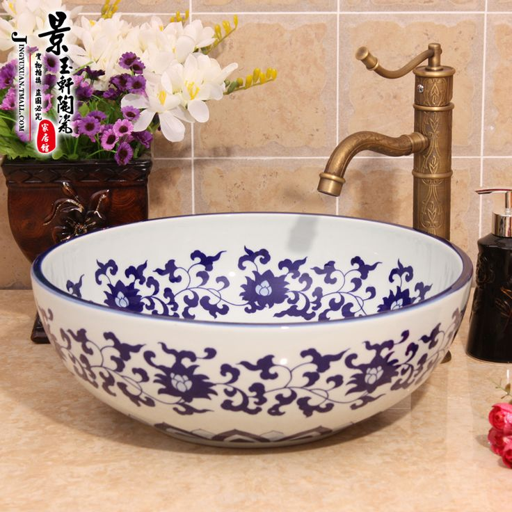 Find More Information about Art Hand painted Jingdezhen blue and white porcelain ceramic wash basins,High Quality basin exploration,China ceramic tile toothbrush holder Suppliers, Cheap basin waste with overflow from Jingdezhen Youngs Ceramic Co., Ltd. on Aliexpress.com