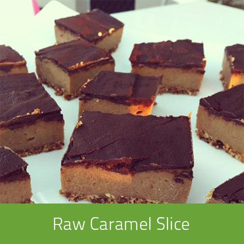 Our delicious caramel slice