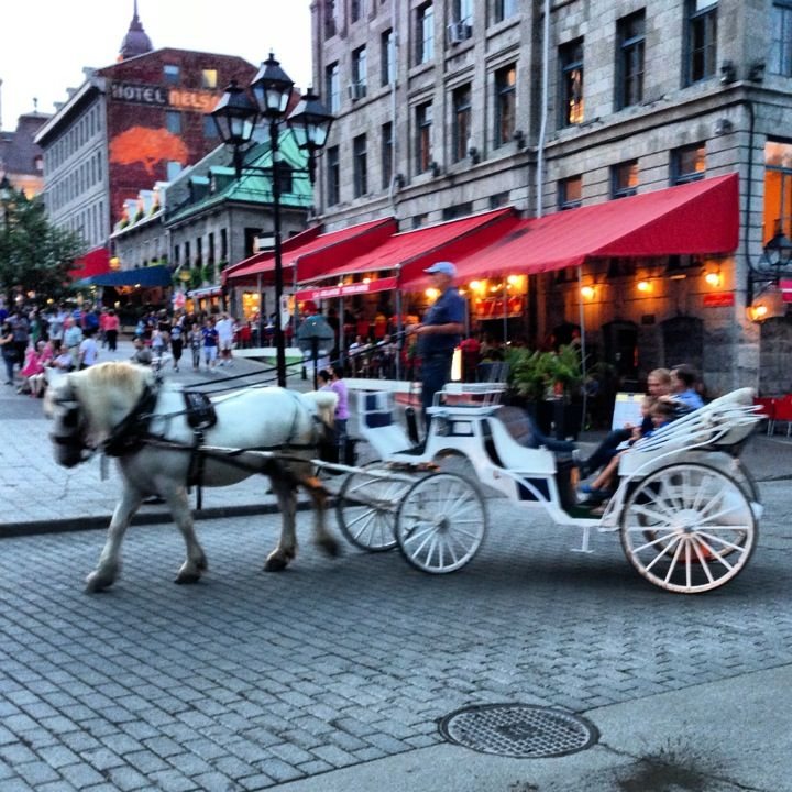 Place Jacques Cartier in Montreal, QC