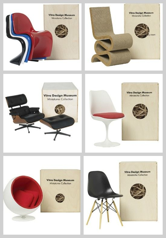 Iconic Miniature Chairs from the Conran Shop