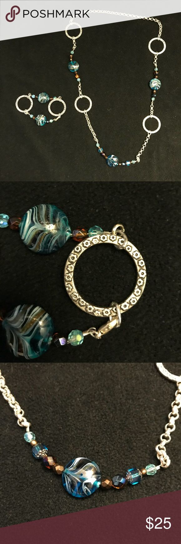 Homemade Jewelry (from a family friend) Necklace and Matching Bracelet Jewelry Necklaces #homemadenecklace