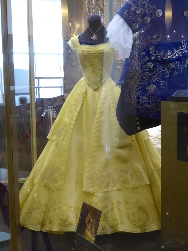 Beauty and the Beast live-action Belle costume