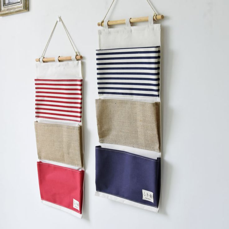 ZAKKA Style Multifunction Plain Striped Pockets Pouch Linen Wall Hanging Type Storage Bag Waterproof Folding Organizer For Toys-in Storage Bags from Home & Garden on Aliexpress.com | Alibaba Group