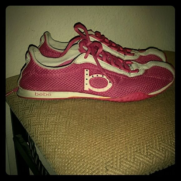 bebe tennis shoes pink and white bebe tennis shoes with