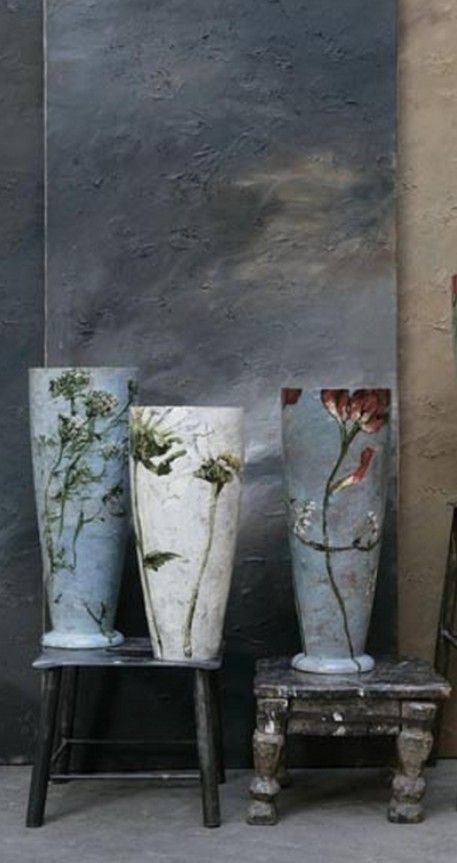 For Bluebellgray or for Moderate Market magnifique pots -Claire Basler