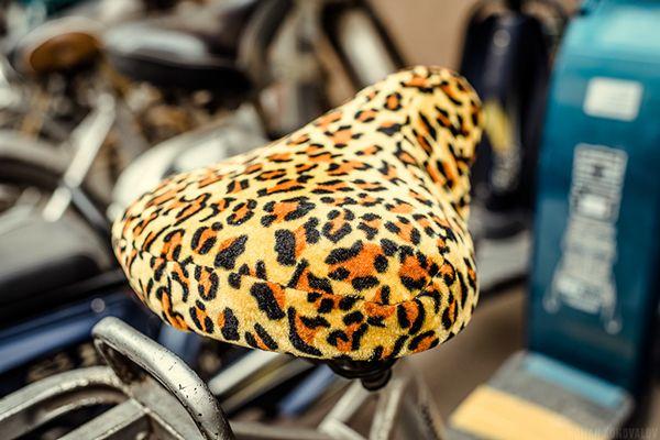 Beijing - bicycle seats by Roman Konovalov, via Behance
