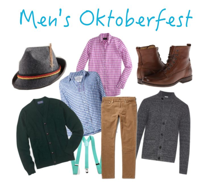 Men's outfits for the Oktoberfest - what to wear to the Oktoberfest. A style guide on Oktoberfest outfits!