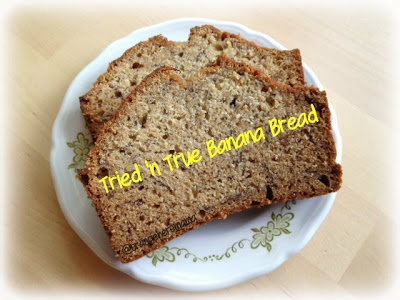 simple Tried 'n True Banana Bread #recipe