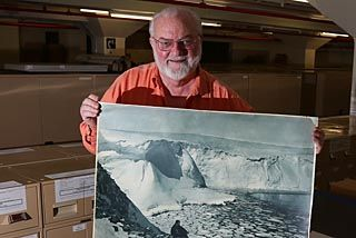 """Alan Davies, State Library photographic curator, in photo finish"" by Julie Power, Sydney Morning Herald, May 30, 2014."