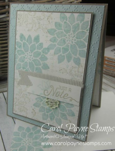 Stampin' Up!, Flourishing Phrases, Kissing Technique, DIY crafts, handmade thinking of you cards, paper crafts