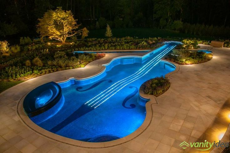 outstanding pool decor