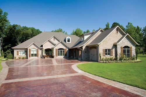 European southern traditional house plan 62132 2nd floor for Traditional southern house plans