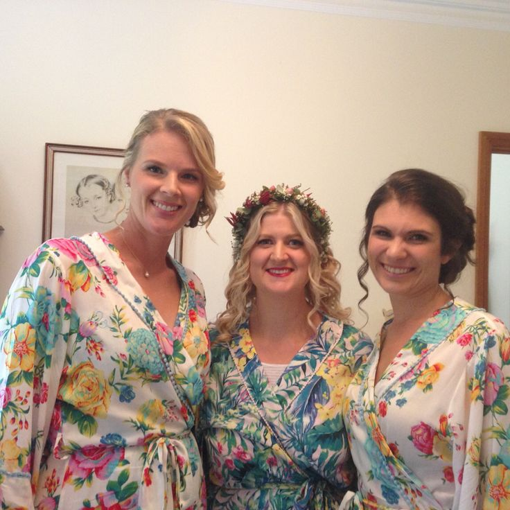 Bridal party. Boho bride. Cassnadra Lee hair and makeup