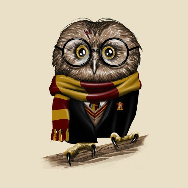 Owly Potter Harry Potter Fanartikel Eule Harry Potter Hintergrund