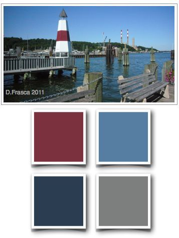 nautical nursery paint palet - Google Search