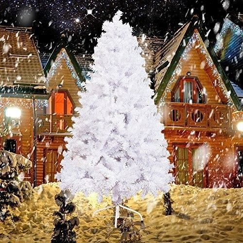 White Artificial Christmas Tree with Stand 5ft Holiday Season Indoor Decor White #Massmarket
