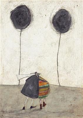 With a title from a Jack Johnson song, and a composition inspired by my beautiful Ann Magill painting: Lovely combination! Sam Toft