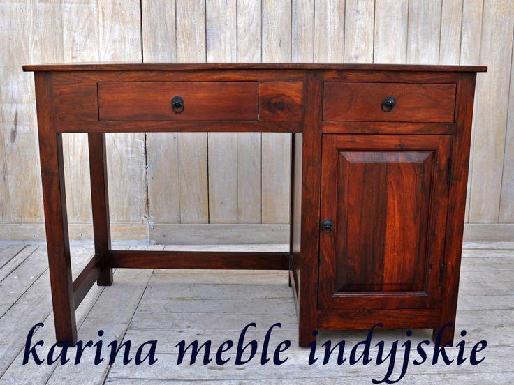 biurko z pliasndru indyjskiego  LD-3050 brown
