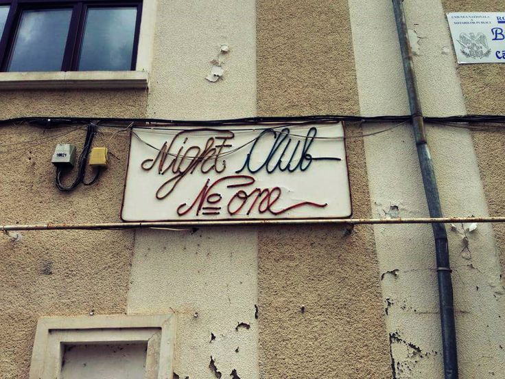 night club no one #onlyinromania