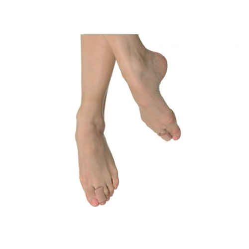 """Bloch Gel Tube  • A high grade rib outer, for a firm fit, has been combined with a gel coating to protect the small toe and bunion areas.  • The gel coating slowly releases medical grade mineral oil to moisturize the skin.  • Cut the 3"""" Gel Tube just short of toe length and place over toe.  Price: 11.10€"""