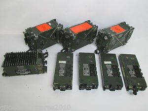 JOB-LOT-British-Army-Surplus-Clansman-RT-349-351-Radios-Amplifier-AUCTION-SALE