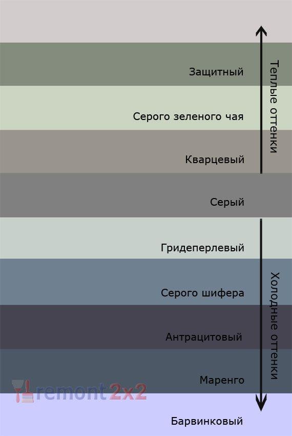 теплые оттенки серого цвета - Поиск в Google