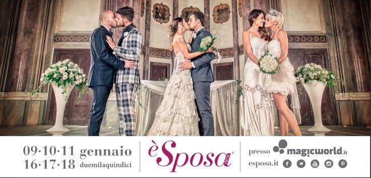 #lovoglio la nuova campagna di comunicazione di è Sposa che celebra l'AMORE. Perché non esistono differenze, amare è un diritto di TUTTI