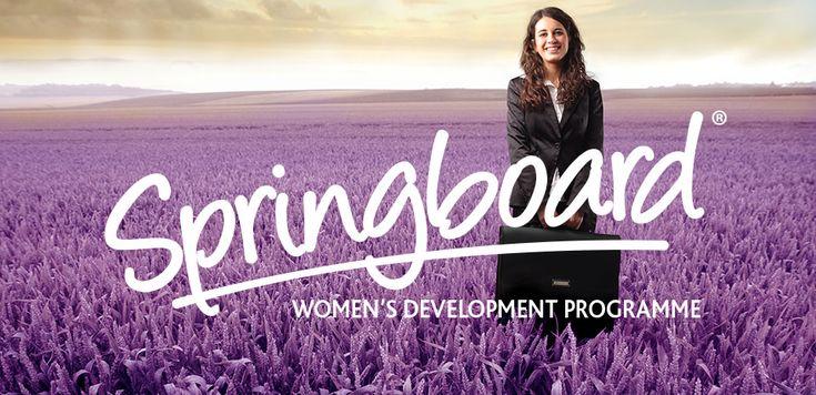 Programme logo design for The Springboard Consultancy.