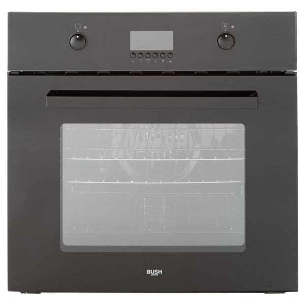 Buy Bush BSOPMFB Single Multifunction Electric Fan Oven - Black at Argos.co.uk, visit Argos.co.uk to shop online for Built-in ovens, Built-in integrated appliances, Large kitchen appliances, Home and garden