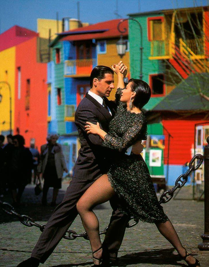 Znalezione obrazy dla zapytania tango na el caminito