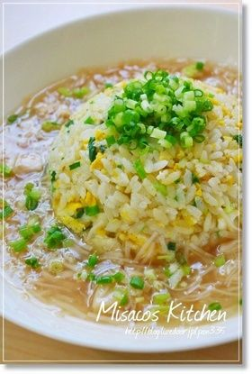 Ankake fried rice with scallops ほたてあんかけチャーハン
