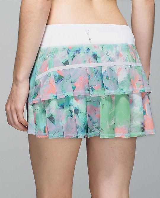 Lululemon Pace-Setter Tennis Skirt | Tennis Dresses | Tennis Skirts | Tennis Ladies Apparel @ www.FitnessGirlApparel.com