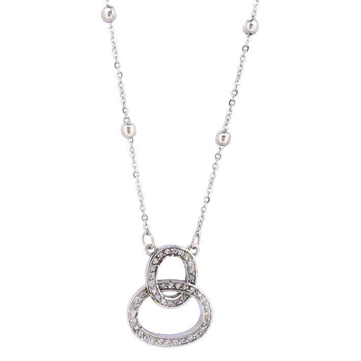Ingnell Jewellery - Susanne necklace steel. Stainless steel. www.ingnelljewellery.com