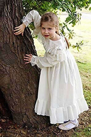 6820879b80019 Victorian Kids Costumes & Shoes- Girls, Boys, Baby, Toddler Victorian-Edwardian  Day Dress-WW1-The Great War WHITE DRESS Fancy Dress Costume $45.00 AT ...