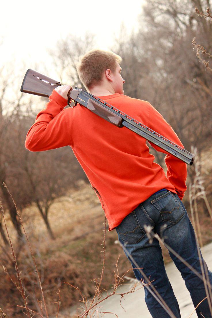 Michael   Senior photos by Laura C. Photography 2013   Hunting senior photos