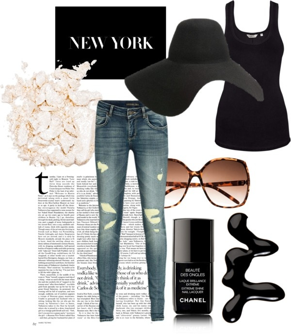 NYC, created by vschuuring on Polyvore