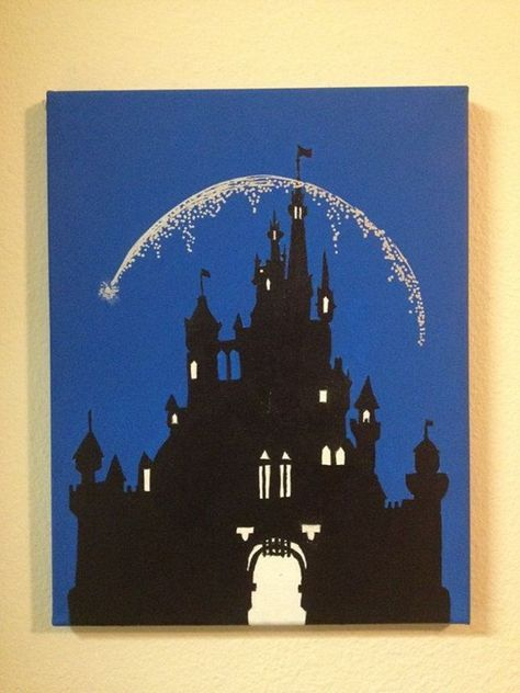 40 Pictures of Cool Disney Painting Ideas 25 Disney