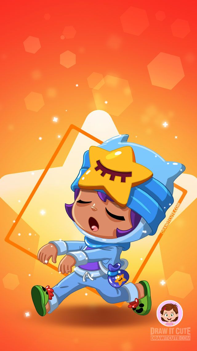 Brawl Stars Tapety Wallpapers Color For Fun Star Wallpaper Star Character Digimon Wallpaper