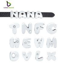 130 PCS 8 MM Un Strass Diapositives Lettres Alphabet Anglais AZ Wristband de Bracelet/Pet Nom Col Collier de Chien LSSL05 * 130(China (Mainland))