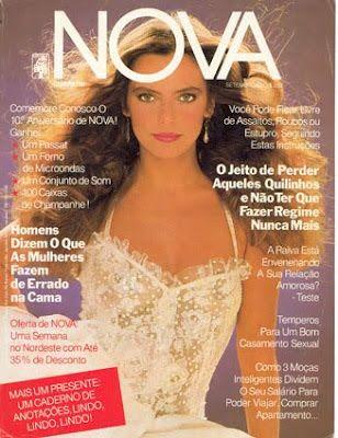 Brazilian actress Bruna Lombardi for NOVA/Cosmopolitan