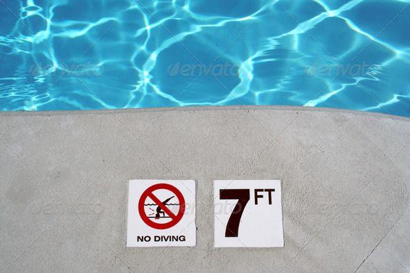 Swimming Pool Depth Marker Swimming Pools Pool Swimming