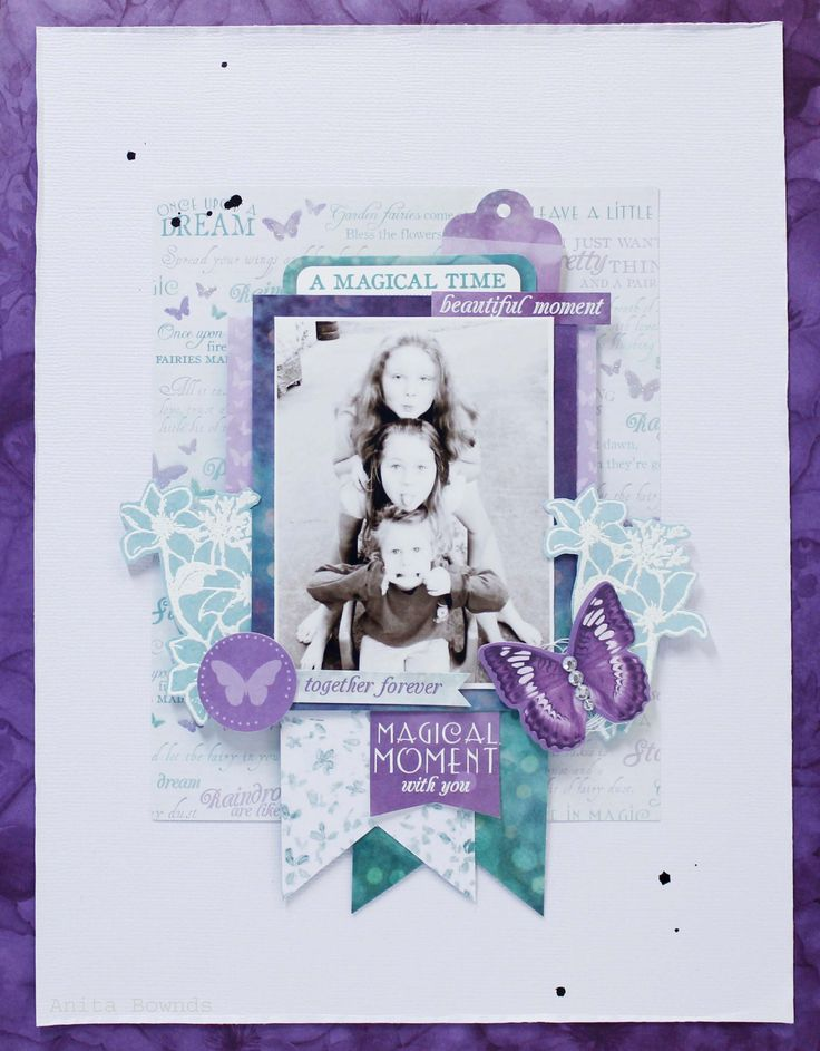 Beautiful Moment  Layout By Anita Bownds (1)