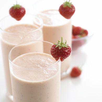 Strawberry & Banana Milkshake