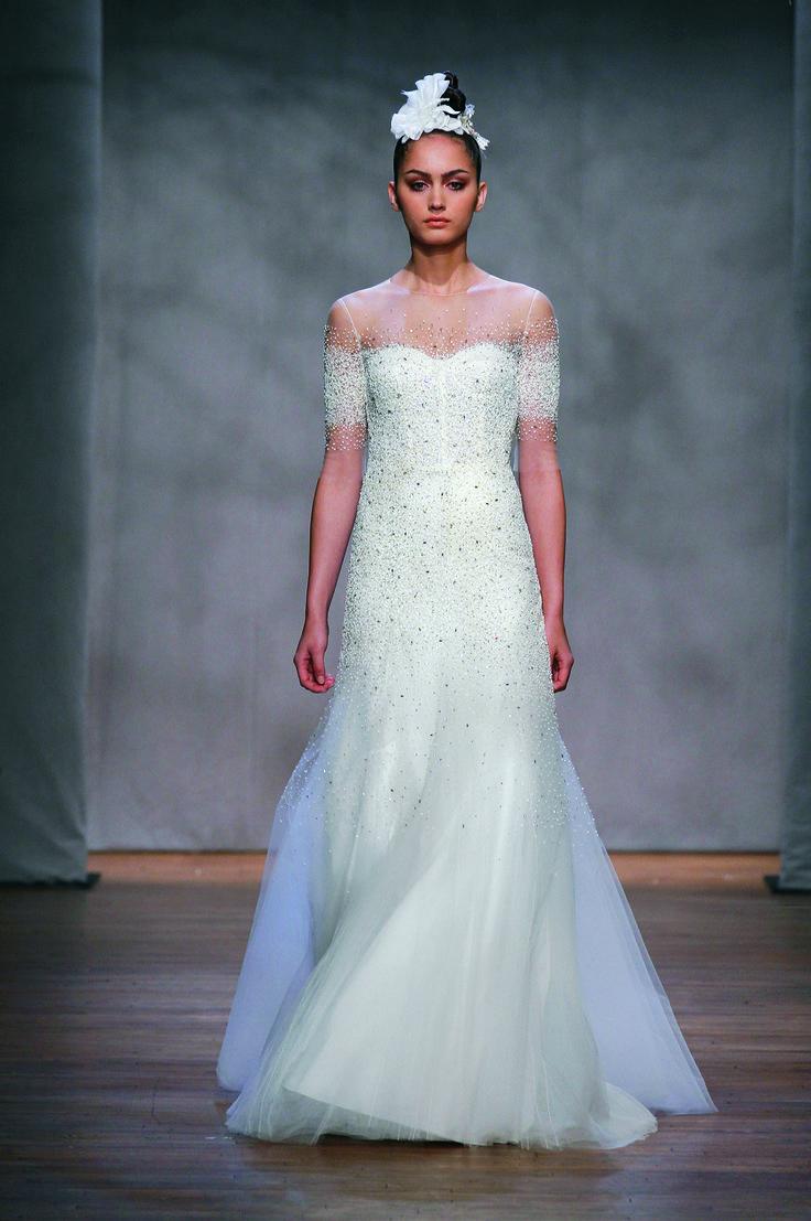 206 best Wedding Dress images on Pinterest | Wedding frocks, Bridal ...