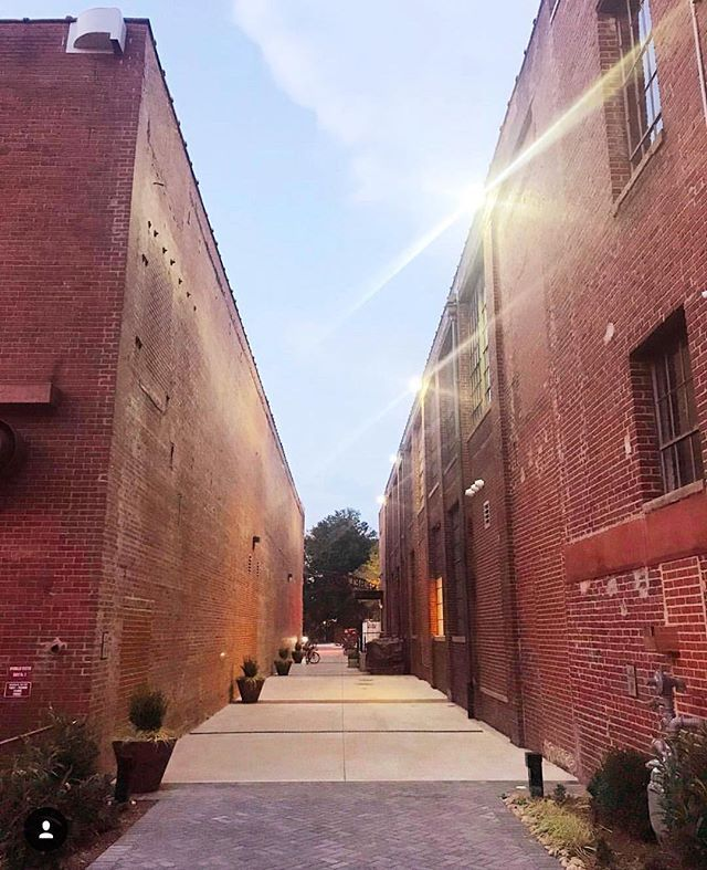 This alley in SouthEndCLT is about to look a LOT