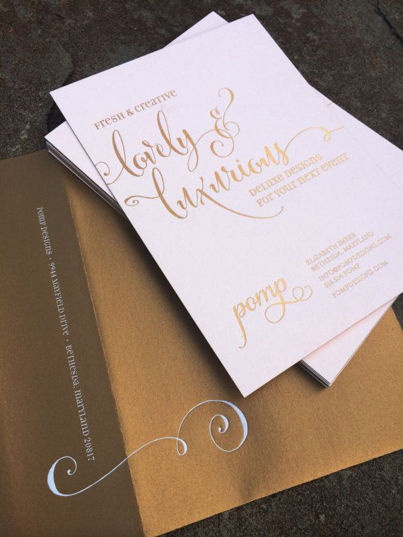 88 best foil stamping ideas images on pinterest | wedding trends, Wedding invitations