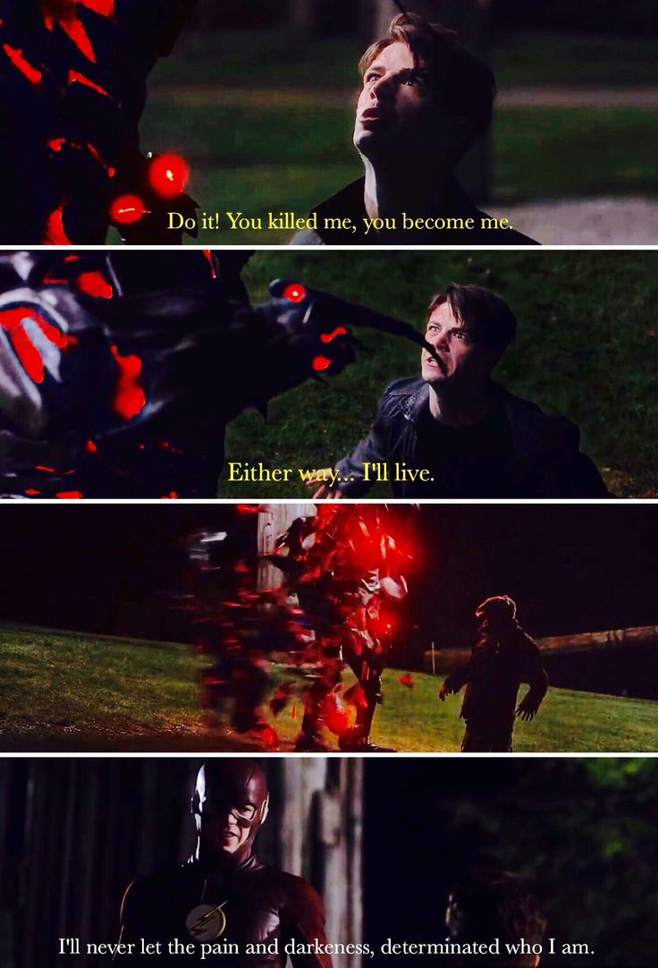 The Flash 3x23 Finish Line! Barry and Savitar last confrontation. #Heroism.