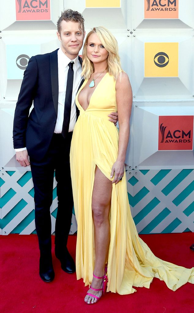 Miranda Lambert & Anderson East from ACM Awards 2016 Red Carpet Arrivals It's finally time! The Hollywood couples makes their red carpet debut as an official pair.