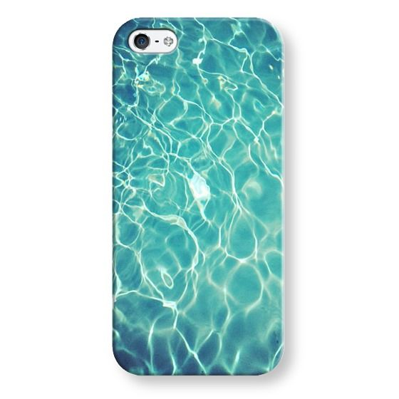 pool reflection phone case
